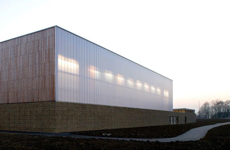 Fachadas de policarbonato - Fachadas industriales - Empresa de fachadas