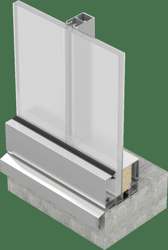 Sistema de fachada Danpal BIM